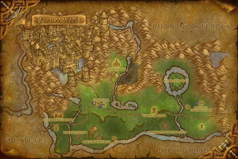 William pestle elwynn forest map world of warcraft cataclysm elwynn forest gumiabroncs Choice Image