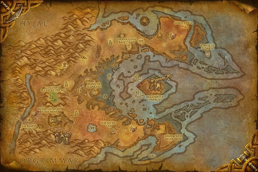 The ruined reaches azshara map world of warcraft cataclysm the ruined reaches gumiabroncs Gallery