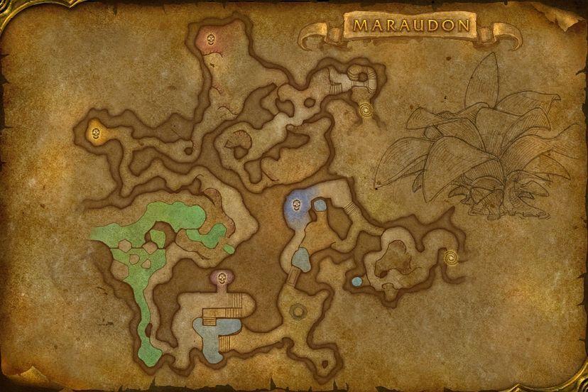 Map - World Of Warcraft Map