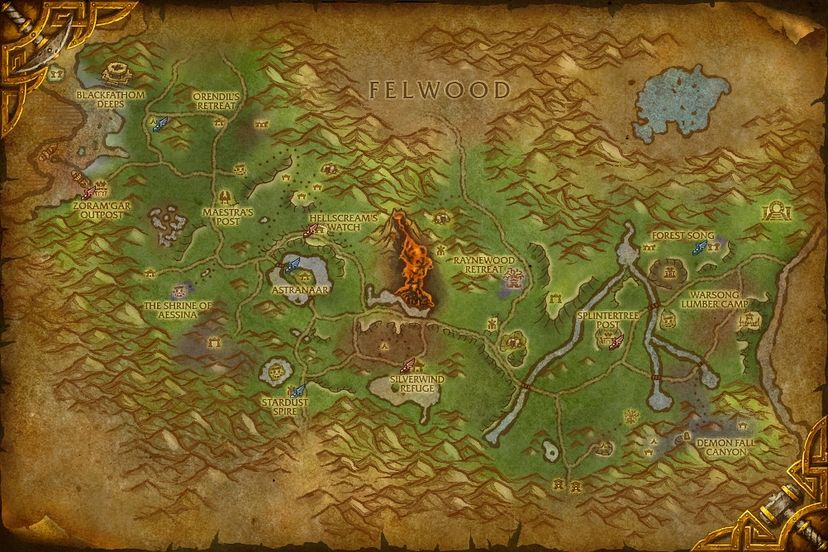 Moonwell of purity ashenvale map world of warcraft cataclysm ashenvale gumiabroncs Image collections