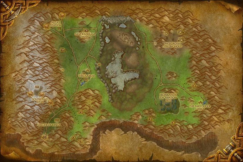 Innkeeper Hearthstove, Loch Modan Map - World of Warcraft ...