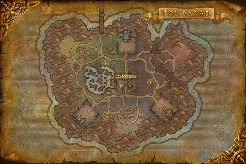 Cursed depths tol barad map world of warcraft cataclysm tol barad gumiabroncs Image collections