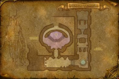 teron gorefiend black temple map world of warcraft cataclysm