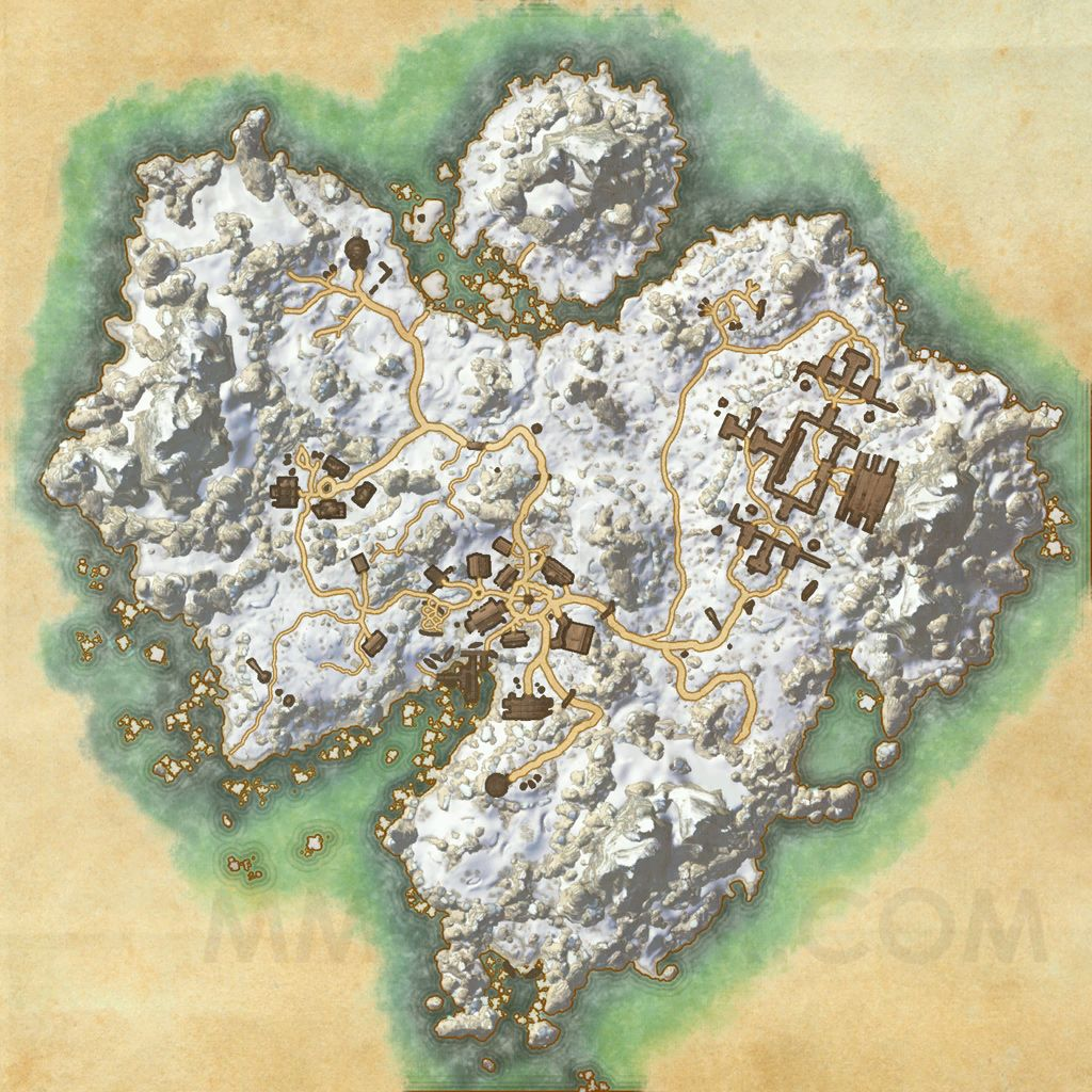 The Elder Scrolls Online Maps