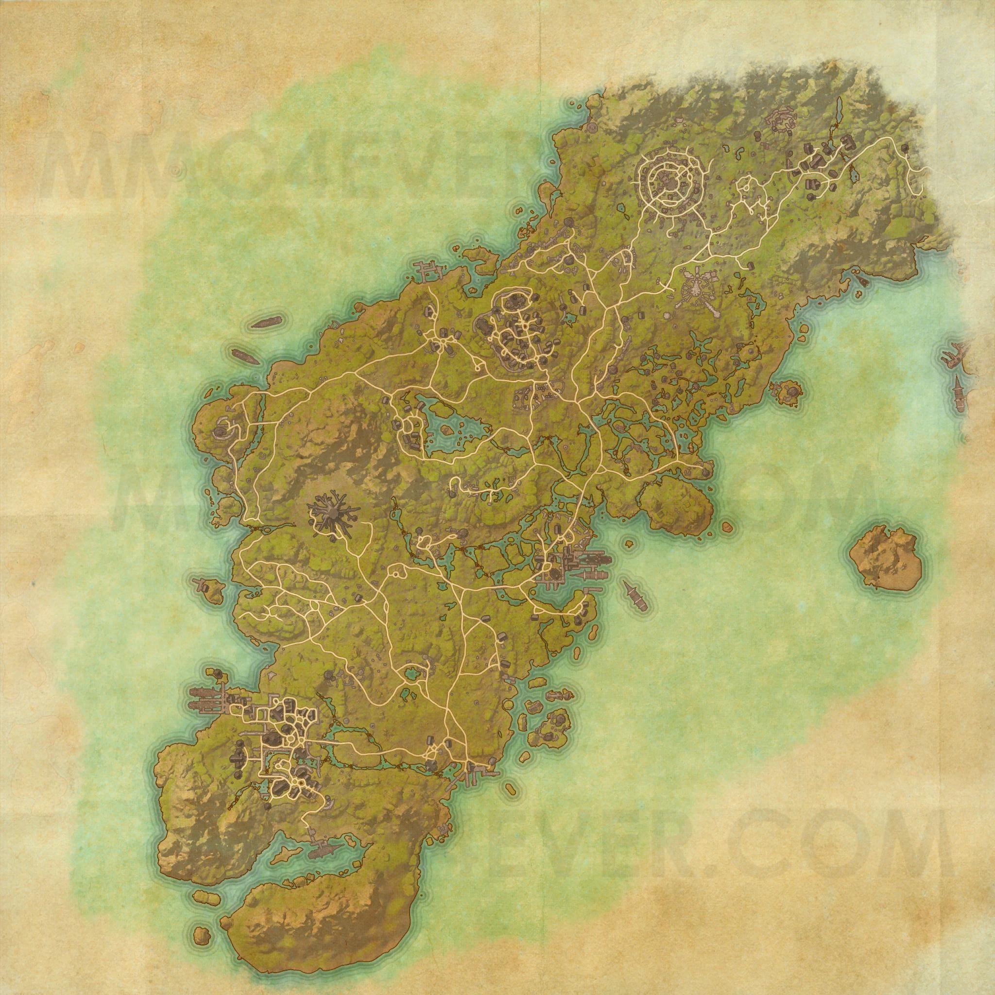 Glenumbra - Map - The Elder Scrolls Online Maps