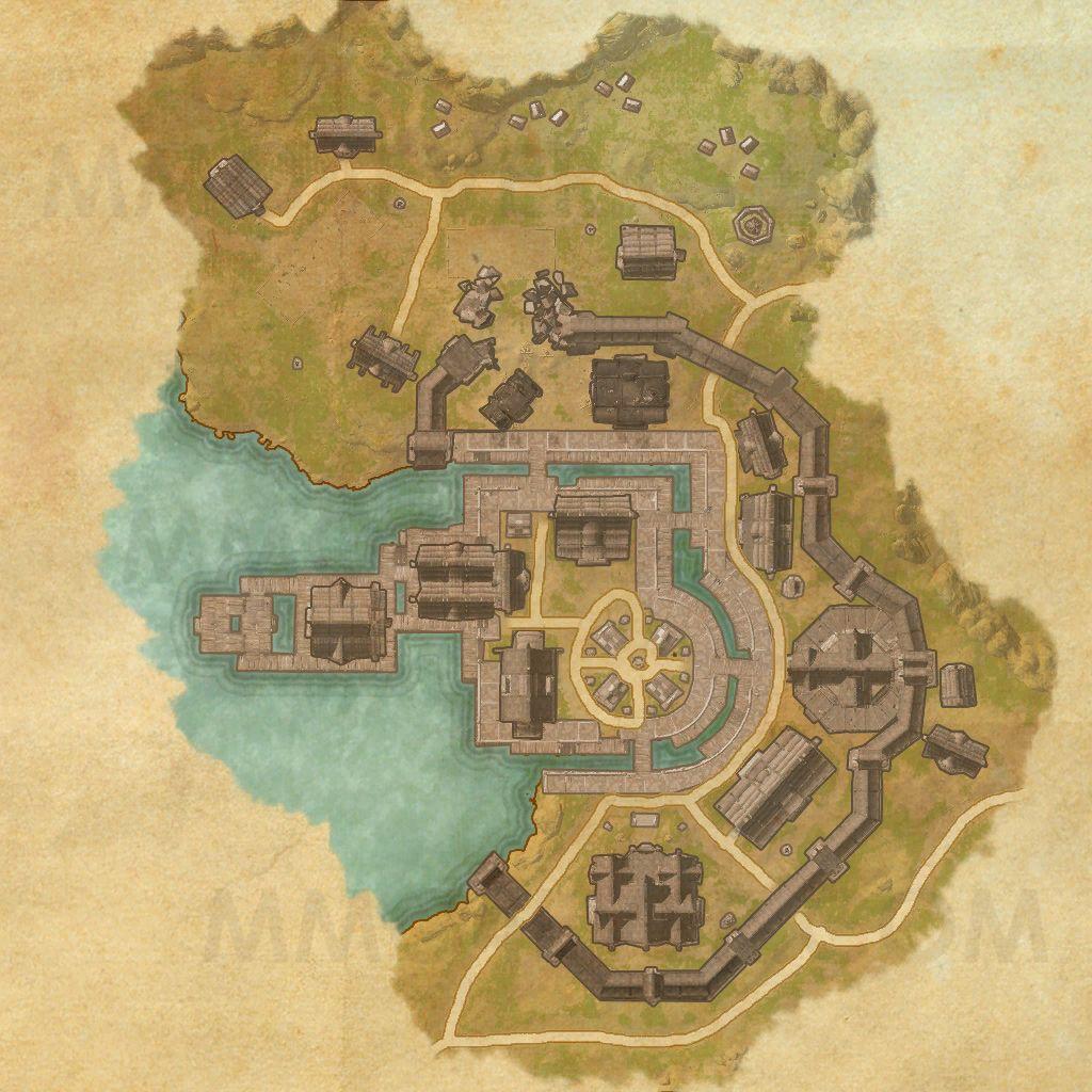 Riften - Map - The Elder Scrolls Online Maps