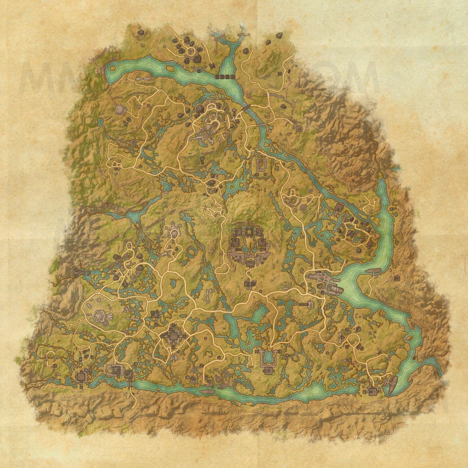 Shadowfen - Map - The Elder Scrolls Online Maps