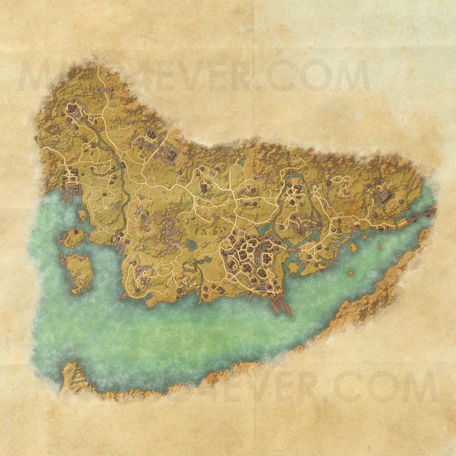 Stormhaven - Map - The Elder Scrolls Online Maps