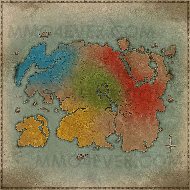 Tamriel (Political Map)