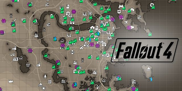 Fallout 4 Maps & Quests
