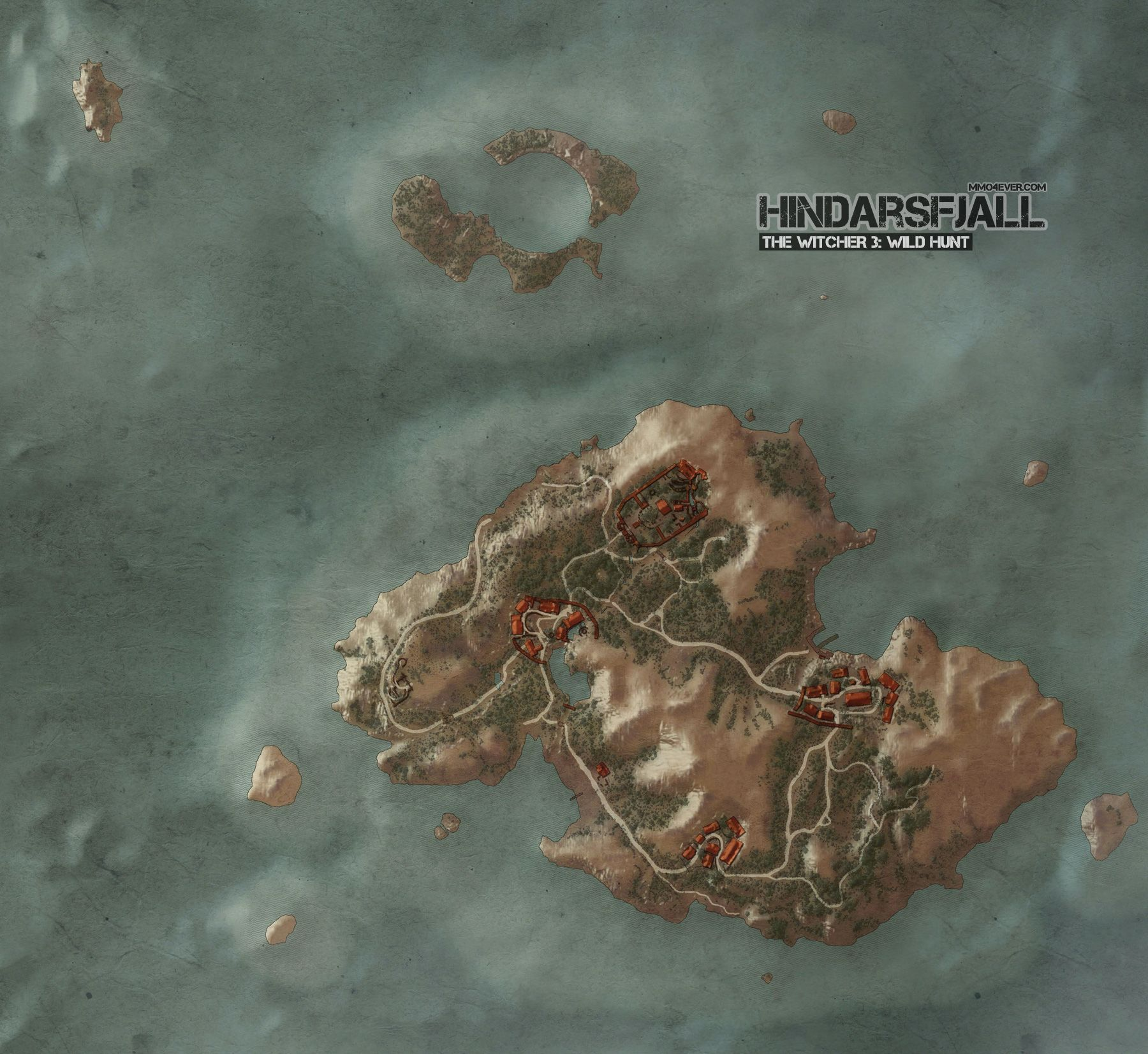 Hindarsfjall Map | The Witcher 3: Wild Hunt Maps & Quests