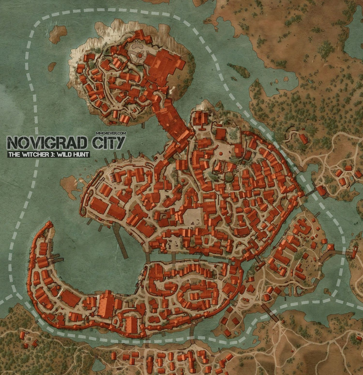 Novigrad map the witcher 3 wild hunt maps quests vivaldi bank gumiabroncs Image collections