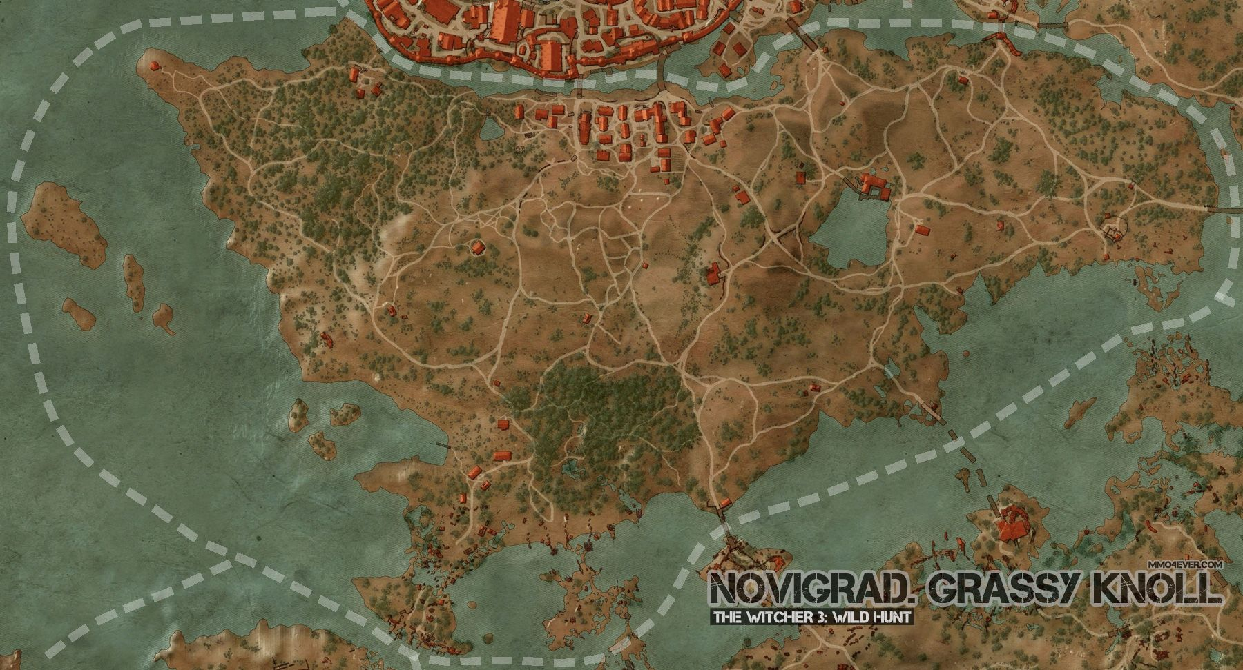 Novigrad, Grassy Knoll Map | The Witcher 3: Wild Hunt Maps & Quests