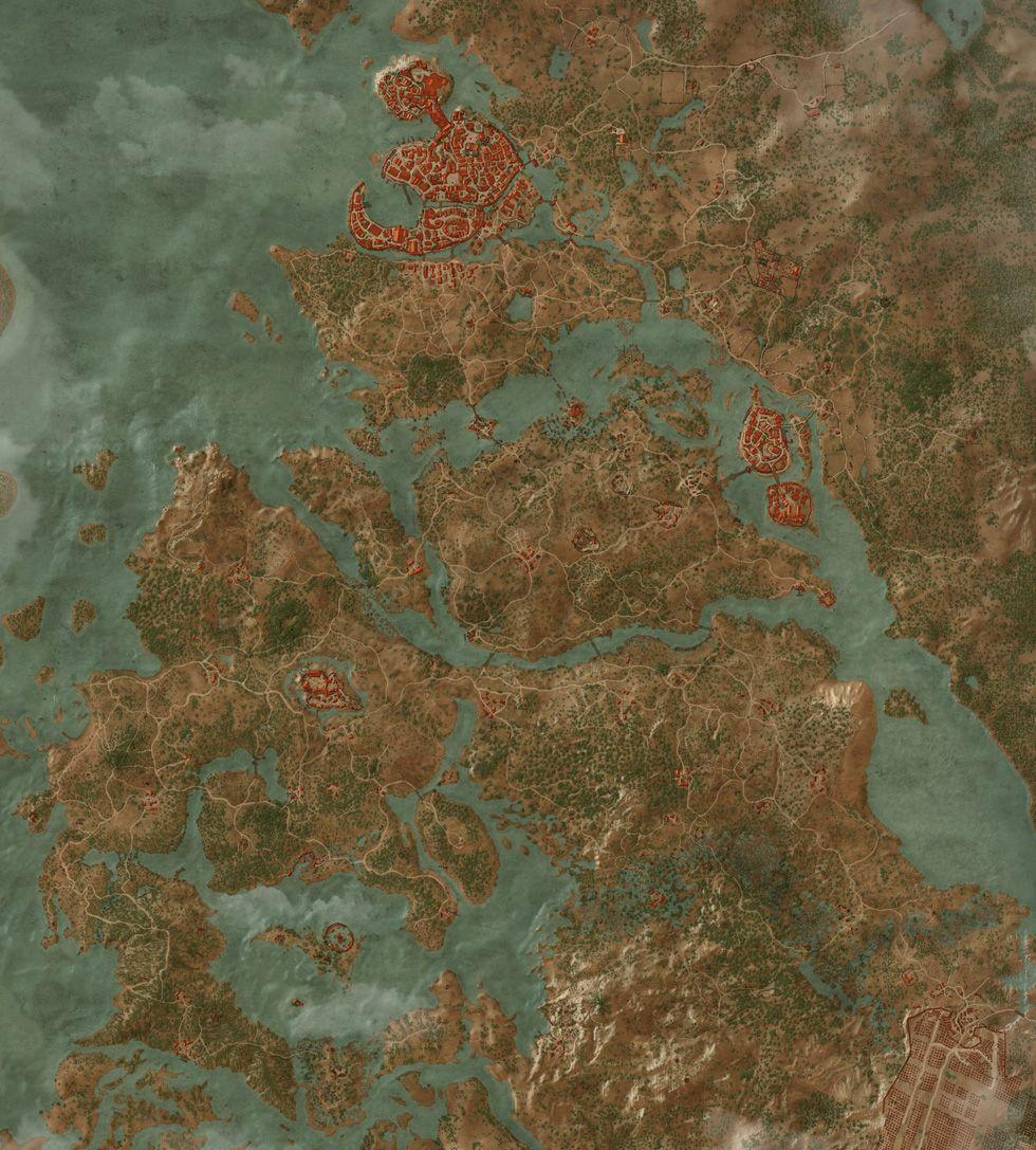 Witcher 3 Velen Karte.Griffin School Gear Quests The Witcher 3 Wild Hunt Maps