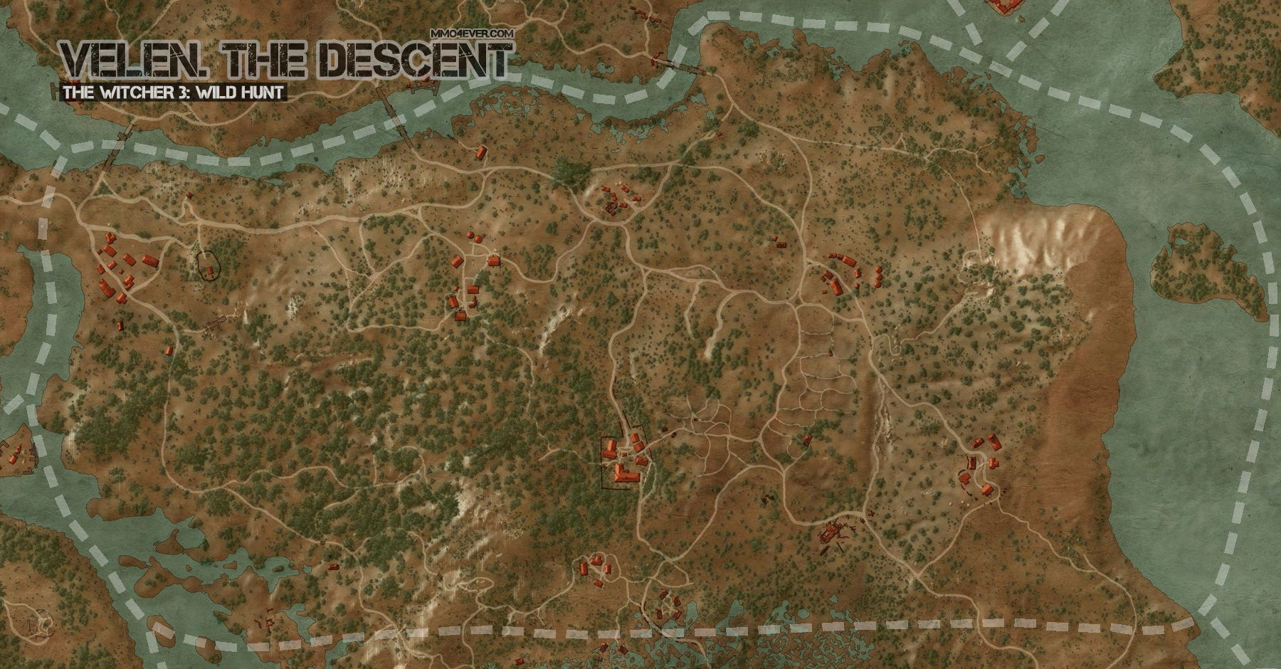 Velen, The Descent Map | The Witcher 3: Wild Hunt Maps & Quests