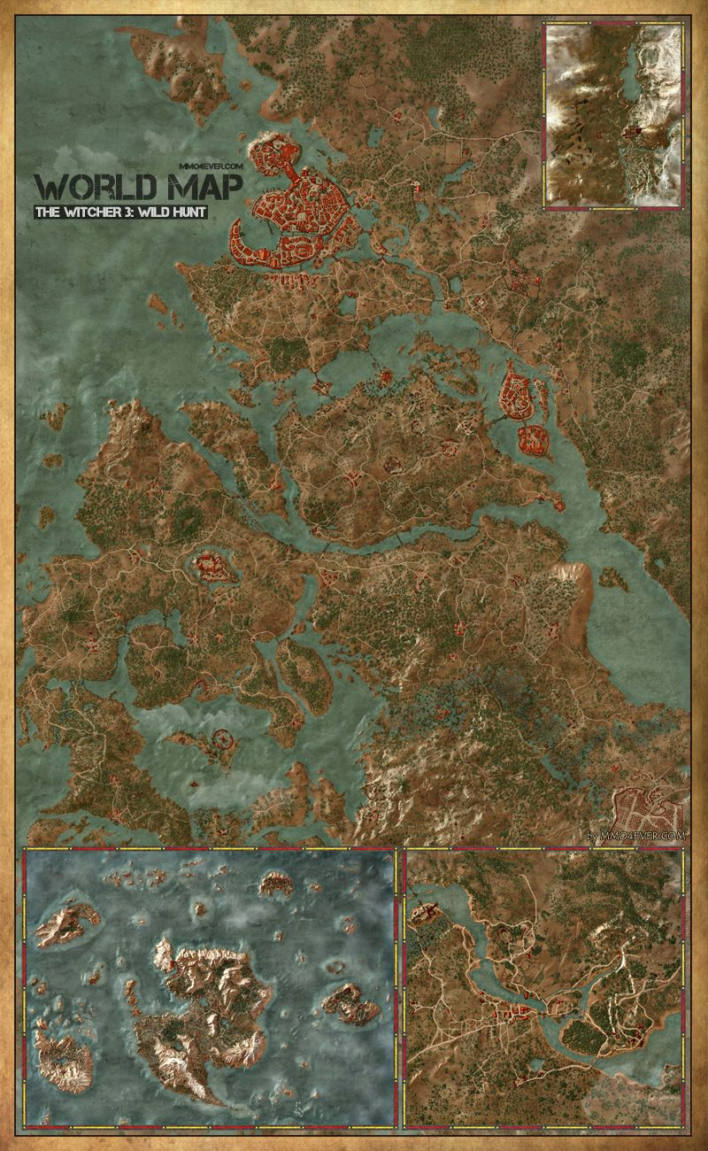 Maps | The Witcher 3: Wild Hunt Maps & Quests