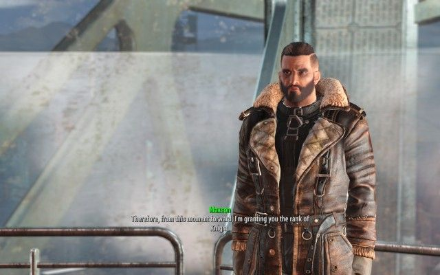 Speak to Elder Maxson