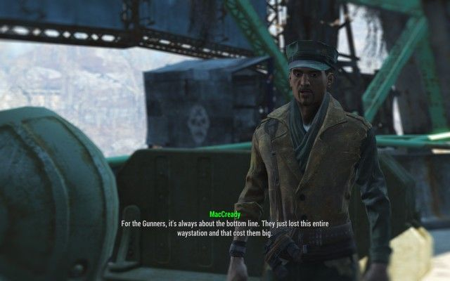 Speak to MacCready