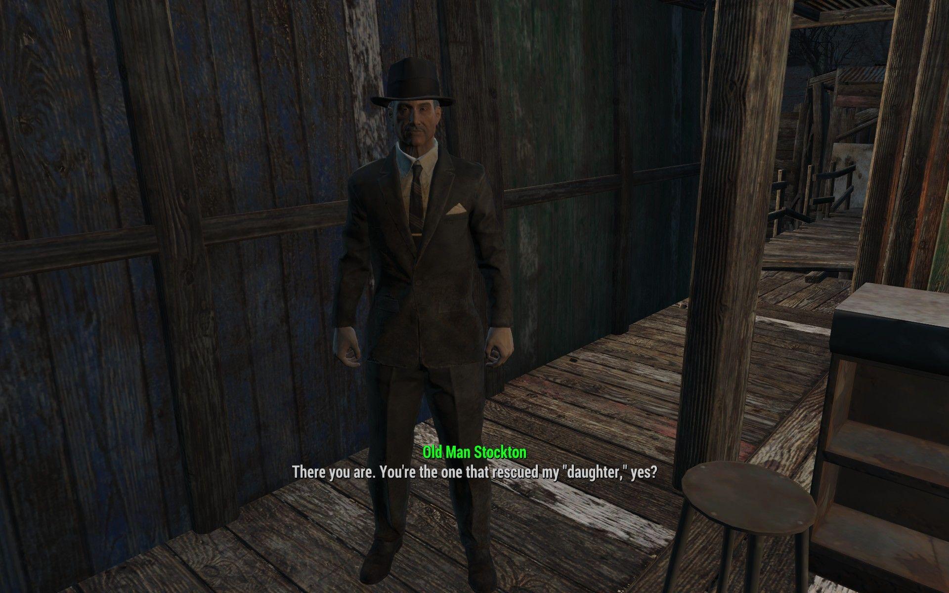 Old man stockton