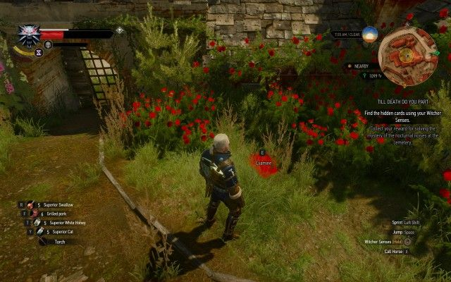 Find the hidden cards using your Witcher Senses.