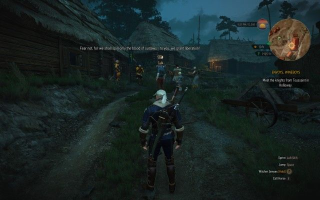 Meet the knights from Toussaint in Holloway.