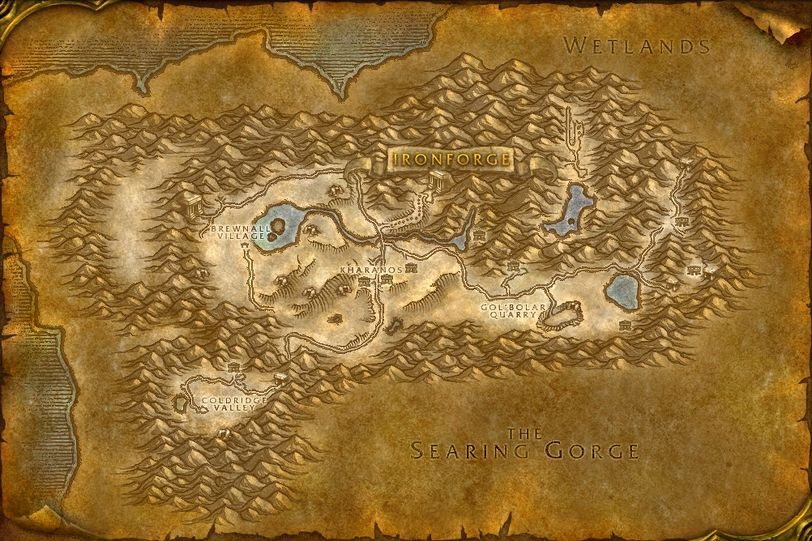 how to change quest area in wow