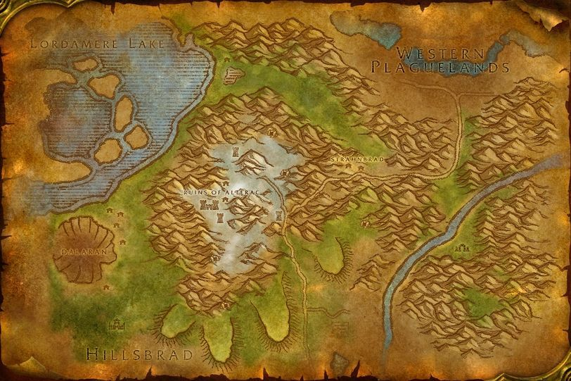 Eastern Kingdoms maps | WotLK