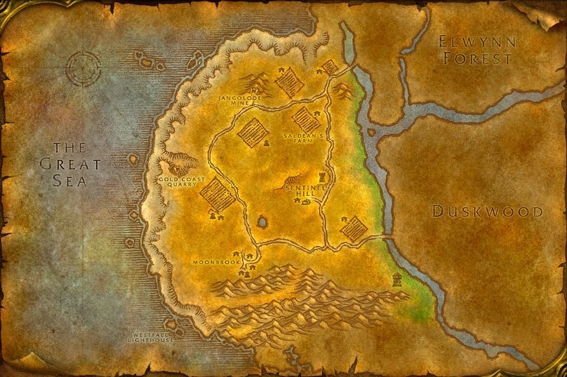 Jangolode mine westfall map id 40 wotlk for West fall